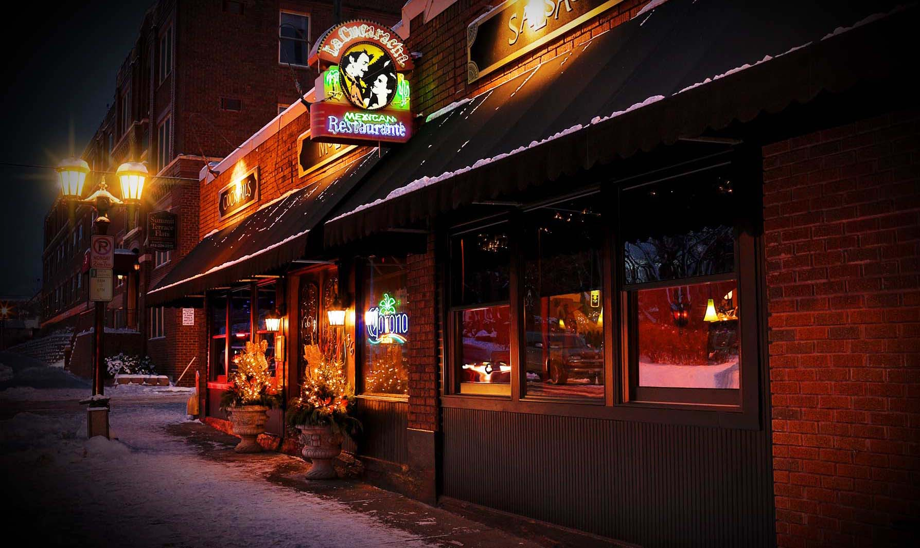 La Cucaracha Is An Award Winning Mexican Restaurant Located In The Historic Crocus Hill Area At Dale And Grand Ave St Paul Minnesota
